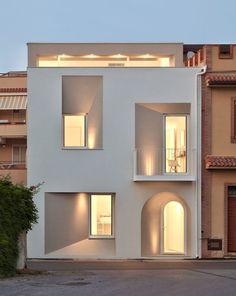 Facade Design, Exterior Design, Interior And Exterior, Villa Design, Village House Design, Village Houses, Shop Facade, Facade House, Fachada Colonial