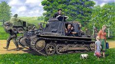1941 Barbarossa Panzerbefehlswagen I   11 PzDiv - Barry Crook - Dragon