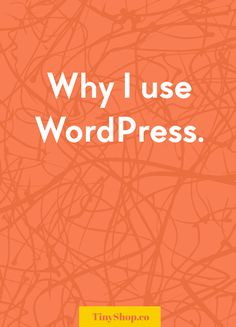 Why I use WordPress for my business web site (WordPress for Beginners)