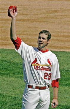 CARDINALS THROWBACK THURSDAY: CHRIS CARPENTER EDITION:  And thank you, Chris Carpenter, for giving your all to the game of baseball and to the St. Louis Cardinals.