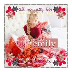 """Emily's Sets"" by the-best-poly-awards ❤ liked on Polyvore featuring celebrityemily and art"