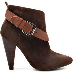 Guess Footwear Women's Carolyn - D Brown Suede