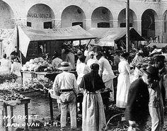 Mercado en San Juan c1890