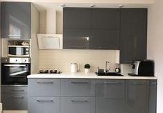 Кухня в Серых тонах: Акценты, сочетание цветов и 139 фото