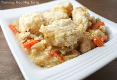 Yummy Healthy Easy: Easy Slow Cooker Chicken and Dumplings