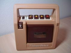 Fisher Price Tape Player.  Had it!