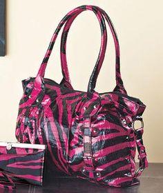 Super Cool Hot Pink Zebra Handbag-Fabulous Purse! Photons!