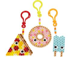 Foodie Backpack Clips Perler Project Pattern