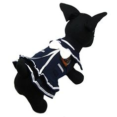 Alfie Pet by Petoga Couture  Juliet Sailor Dress  Color Navy Size Small -- Read more reviews of the product by visiting the link on the image.