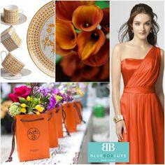 Hermes Inspired Designer Wedding