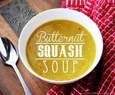 Soups Recipes : Skinny Butternut Squash Soup  : Soups Recipes