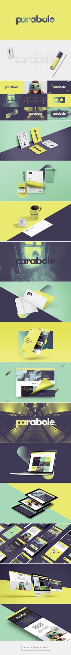 Parabole on Behance - created via https://pinthemall.net