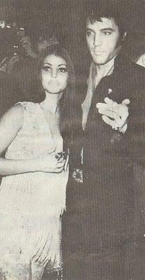 Elvis and Priscilla @ Nancy Sinatra's after party show 1969