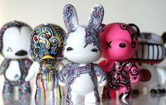 Hand Painted Sharpie Toys by The Graphix Chick