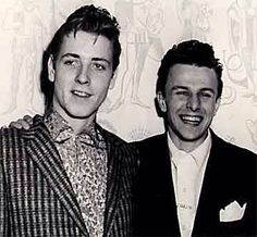 Eddie Cochran and Charlie Gracie