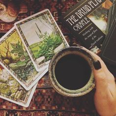 The Druid Plants Oracle... yet another oracle deck to lust after
