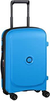 £48.69 DELSEY PARIS Belmont Plus Suitcase 55 centimeters 32.1 Blue (Azul Metalico) at Amazon Luggage Backpack, Suitcase, Paris, Amazon, Blue, Montmartre Paris, Amazons, Riding Habit, Paris France
