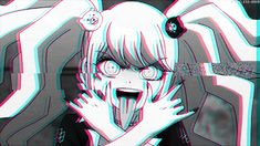 a, anime, anime gif, anime girl, despair