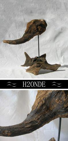 Art & Collectibles  Sculpture  Art Objects  driftwood sculpture  wood…