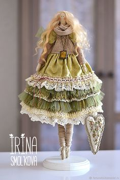 doll Tilda LULA – shop online on Livemaster with shipping