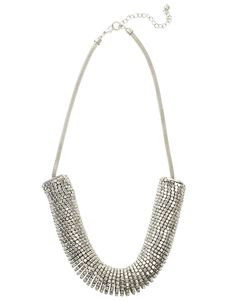 Ofelia Necklace - Blond Accessories - Silver - Jewellery - Accessories - NELLY.COM UK