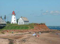 Prince Edward Island, Canada: Lighthouse and beach
