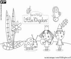 Digital Ben & Holly clipart / little kingdom clipart / png