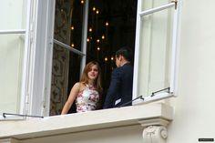 Emma at Caroline Seiber's wedding in Vienna :)