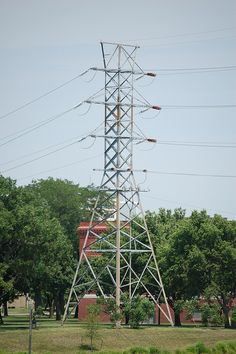 Old Eectric Tower near the Keeper Of The Flame, Wichita KS | Flickr - Photo Sharing!