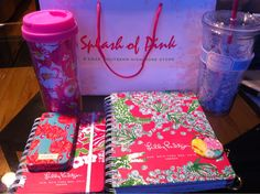 ahh my planner and mug AND tumbler cup!