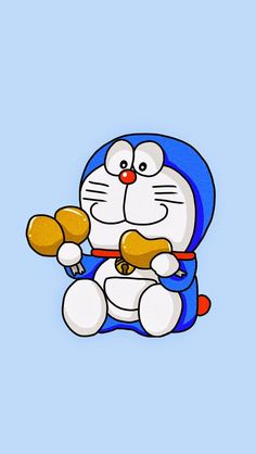 Doraemon. Check out these 9 Chibi Cartoon/Anime Wallpapers. <3 Cute and funny iPhone wallpapers. - @mobile9