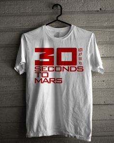30 Seconds to Mars Logo Shirt   T-shirt