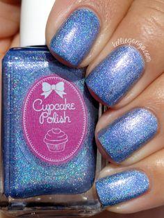 Cupcake Polish Air  (Libra, Aquarius, Gemini) (The Holo Hookup FebruaryBox LE)