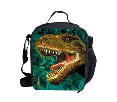 Animal Dinosaur Outdoor Cooler Thermal Waterproof Lunch Bag Tote Box Container #BIGCAR
