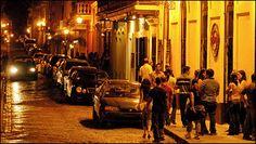 Calle San Sebastián is the heart of San Juan's nightlife.