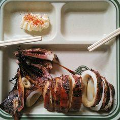 """BBQ Squid  #hakodate #hokkaido #vscohub #vscocam #foodvsco #clickandeat…"