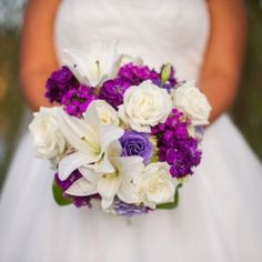 Beautiful wedding in Atlanta Georgia shot by Chill Photography with purple details and lots of DIY!