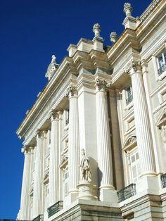 el palacio royal. madrid.