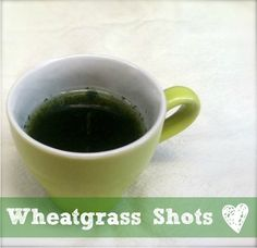 Wheatgrass shots to celebrate St. Patrick's Day?  Why yes, of course!  It's a nutritionally complete food, gives us energy and nourishes our blood.  How can we say no?  all-about-juicing.com/wheatgrass.html