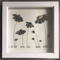 This everlasting flower Pebble Art picture design is a unique gift for anyone who appreciates something different, personalised unique décor, that has been specially customised just for them. Ideal for a retirement gift, a special gift for Mum or anyone really as it will will be