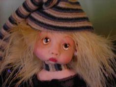 Fairy pixie elf OOAK Fantasy Art Doll By by FairiesAndMermaids, $44.66