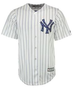 Majestic Men's Gary Sanchez New York Yankees Stars & Stripes Cool Base Jersey - White XXL