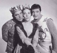 Julie Andrews, Richard Burton and Robert Goulet