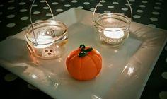 #diy #fimo #Halloween #potdeyaourt #homemadebylou