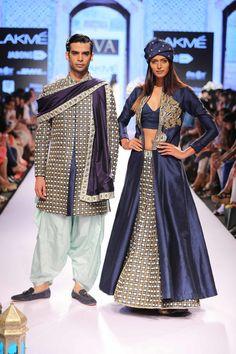 SVA - Sonam & Paras Modi -Lakme Fashion Week Summer/Resort 2015 #layering