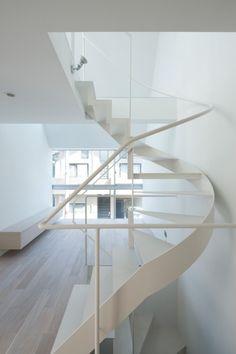 Staircase Design By Satoshi Kurosaki