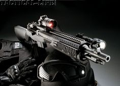 Hard-hitting war veteran can pull double-duty as an entry and cruiser carbine! Military Weapons, Weapons Guns, Guns And Ammo, Springfield M1a, Scout Rifle, Battle Rifle, Fire Powers, Firearms, Shotguns