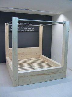 Bed Frame King Heavy Duty Bed Frame Under Bed Storage #furniturebandung #furnituresumatra #BedFrames