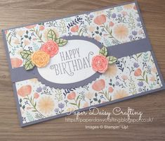 Stampin Up Happy Birthday Gorgeous