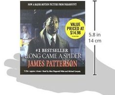 Along Came a Spider (Alex Cross) Audio CD – Abridged, Audiobook James Patterson
